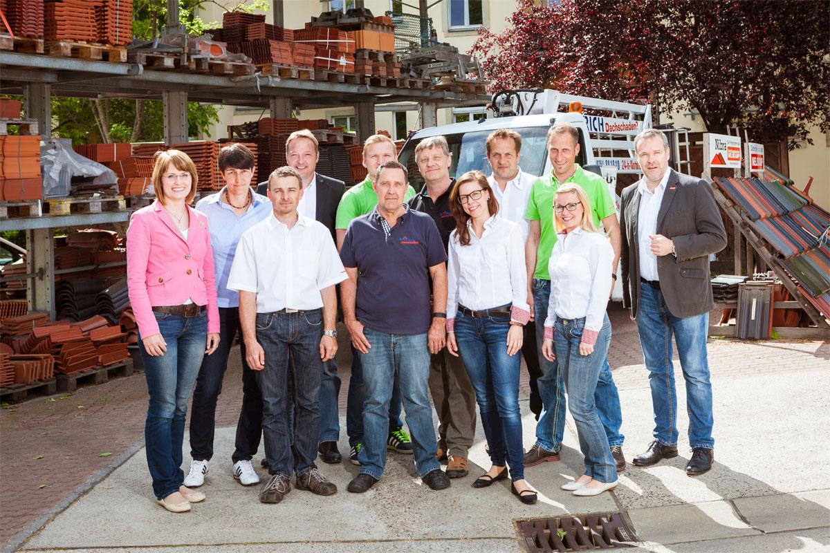 Bauleiter- und Büroteam