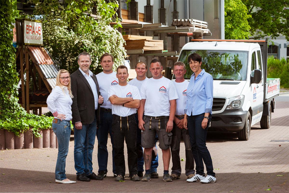 Team der DDB Dachbegrünung GmbH