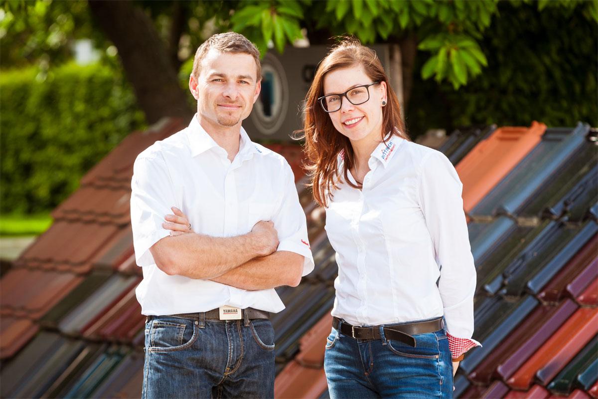 Ausbildungsverantwortliche Jens Wagner und Liane Schöne